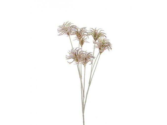 umela-dekorace-bodlak-rozevreny-70cm