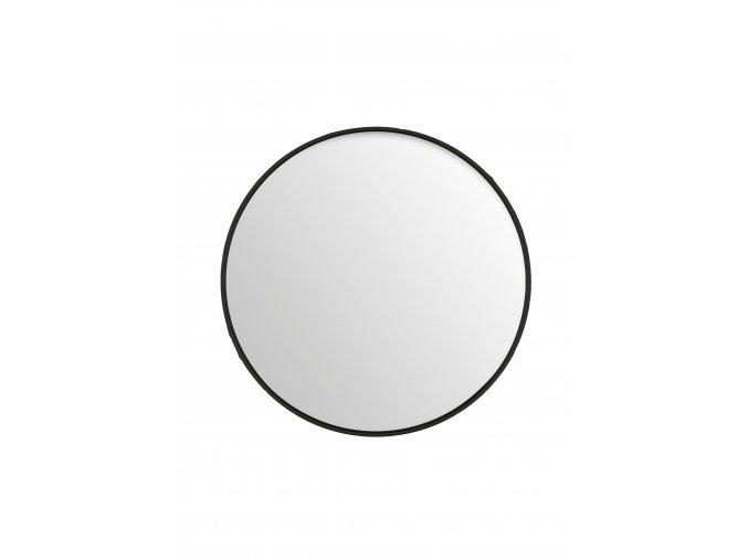 zrcadlo-kulate-cerne-tenky-ram-o80cm