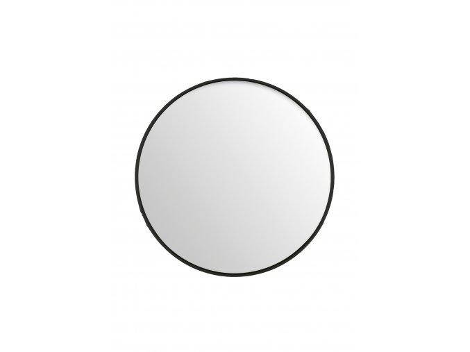 zrcadlo-kulate-cerne-tenky-ram-o100cm