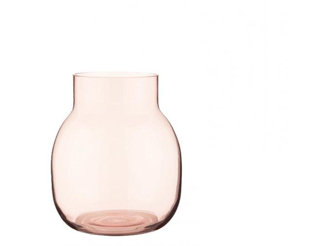 vaza-ashley-sklenena-ruzova-19cm