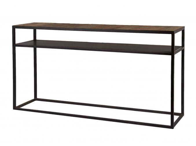 konzolovy-stolek-bilbao-s-drevenou-deskou-140cm