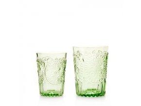 Sklenka Fleur de Lys glass malá zelená
