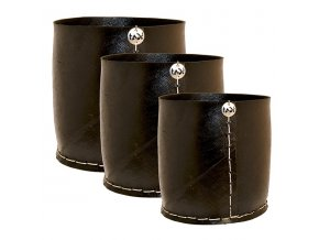 Květináč z recyklovaných pneumatik, velikost L