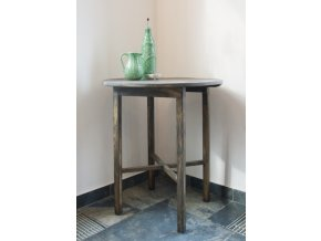 Stůl kulatý malý Antik
