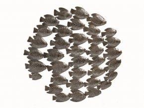 dekorace-na-zed-plastika-rybi-hejno-60cm