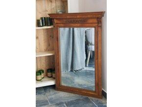 Zrcadlo starožitné hnědé