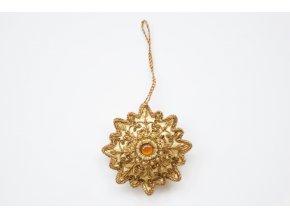 Ozdoba, Květ s jantarovou perličkou