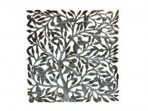 Dekorace na zed´- Plastika strom života 85cm (čtverec)