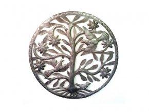 Dekorace na zed´- Plastika strom života 43cm