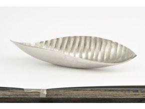 dekorativní mísa - stříbrný list