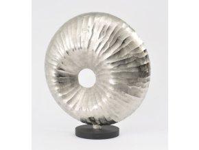 Dekorace stříbrná lastura