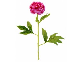 Umělá květina - Pivoňka fuschiová