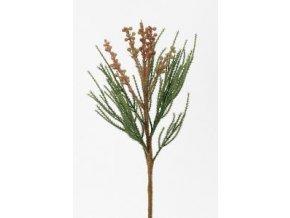 Umělá květina - Okrasné jehličí, větvičkaUmělá větvička - Okrasné jehličí