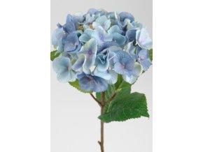 Umělá květina - Hortenzie modrá