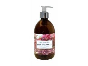 Tekuté mýdlo růže