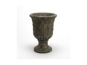 Váza antická se zlatou patinou 28cm