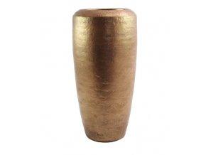 Váza Selmos zlatá patina