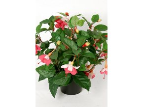 Umělá květina - Fuchsia keřík