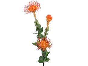 Umělá květina - Protea exotická květina
