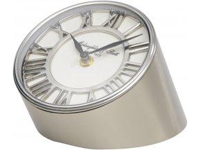 Stolní hodiny kovové