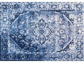Koberec Falco bavlněny - modrý motiv 240x170