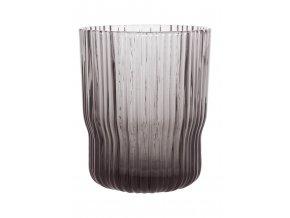 Sklenička z kouřového skla velikost S