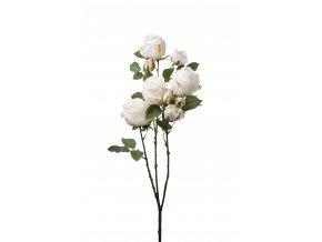 Umělá květina - Růže bílá rozvětvená á