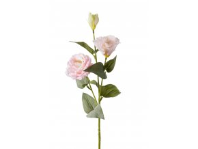 Umělá květina - Eustoma-jícnovka růžová