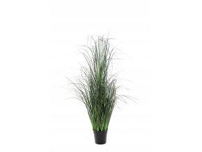 umela-dekorace-trava-tmave-zelena-110-cm