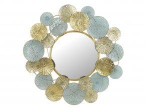Zrcadlo kulaté s barevným rámem