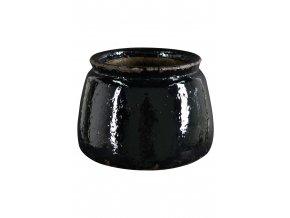 Obal kameninový Walmer černý 14 cm