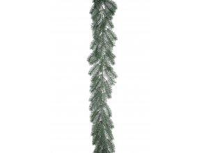 umela-dekorace-girlanda-jedlicka-s-namrazou-180cm