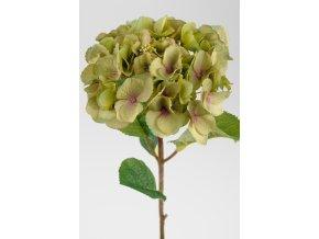Umělá květina - Hortenzie zelenkavá