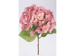 Umělá květina - Hortenzie růžová