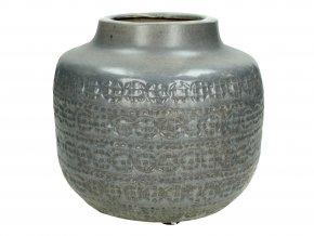 vaza-seda-s-azteckym-vzorem--22