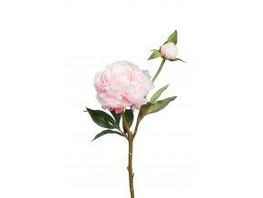 umela-kvetina-pivonka-svetle-ruzova-s-poupetem-35cm