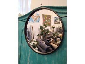 zrcadlo-kulate-cerne-tenky-ram--50cm
