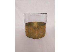 svicen-skleneny-zlaty-valec-20x20cm