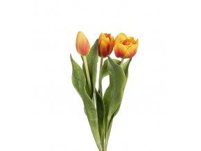 umela-kvetina-tulipan-oranzovy-zihany-mix