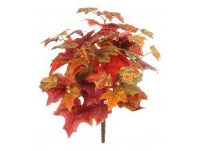 umela-dekorace-svazek-podzimniho-listi