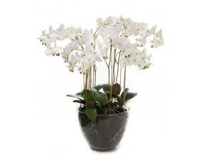 umela-dekorace-orchidea-bohata-bila-ve-skle-90cm