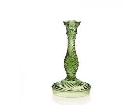Svícen Twist zelený