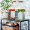 CUmělá rostlina - Citronovník v hliněné nádobě
