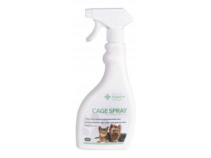 Cage Spray white back ground