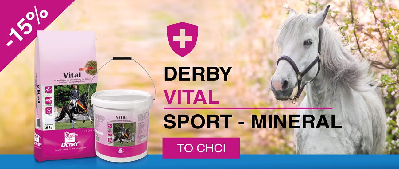 Derby Vital a Sport Mineral -15 %