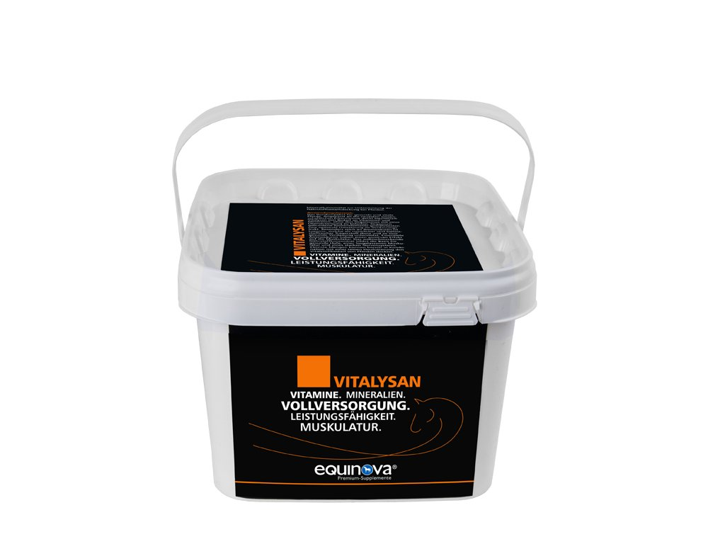 Vitalysan - prášek 3 kg (Equinova)  prémiový doplněk s vitaminy a minerálními látkami