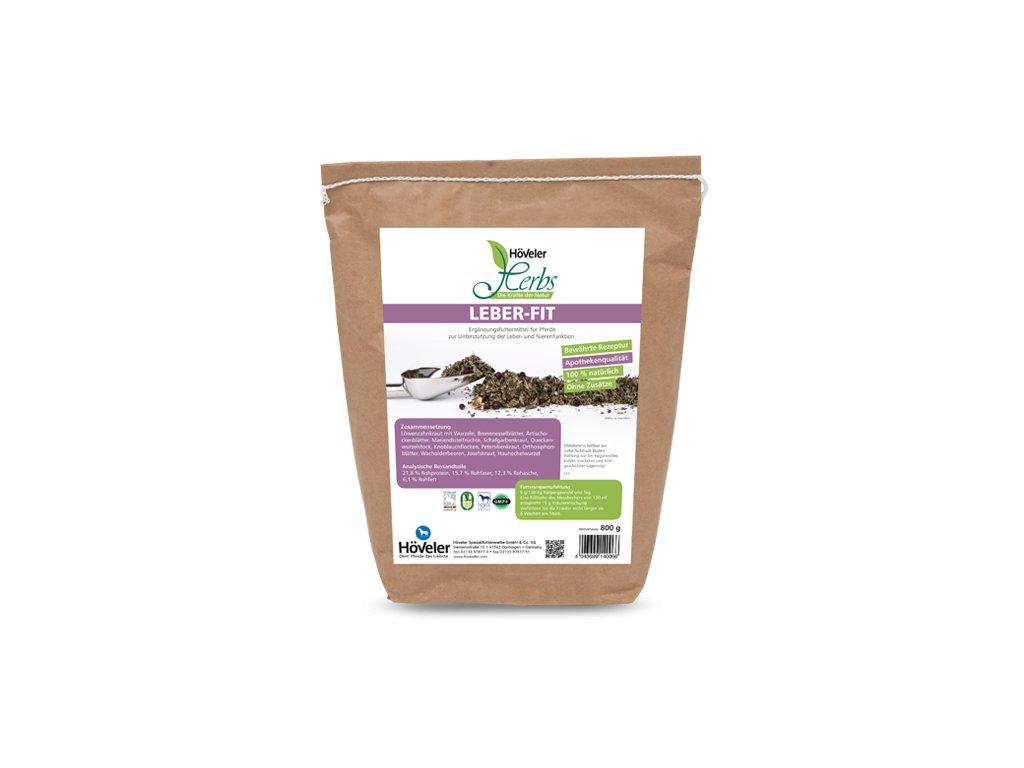 Byliny - Leber Fit, 800 g (Höveler)  na játra a ledviny