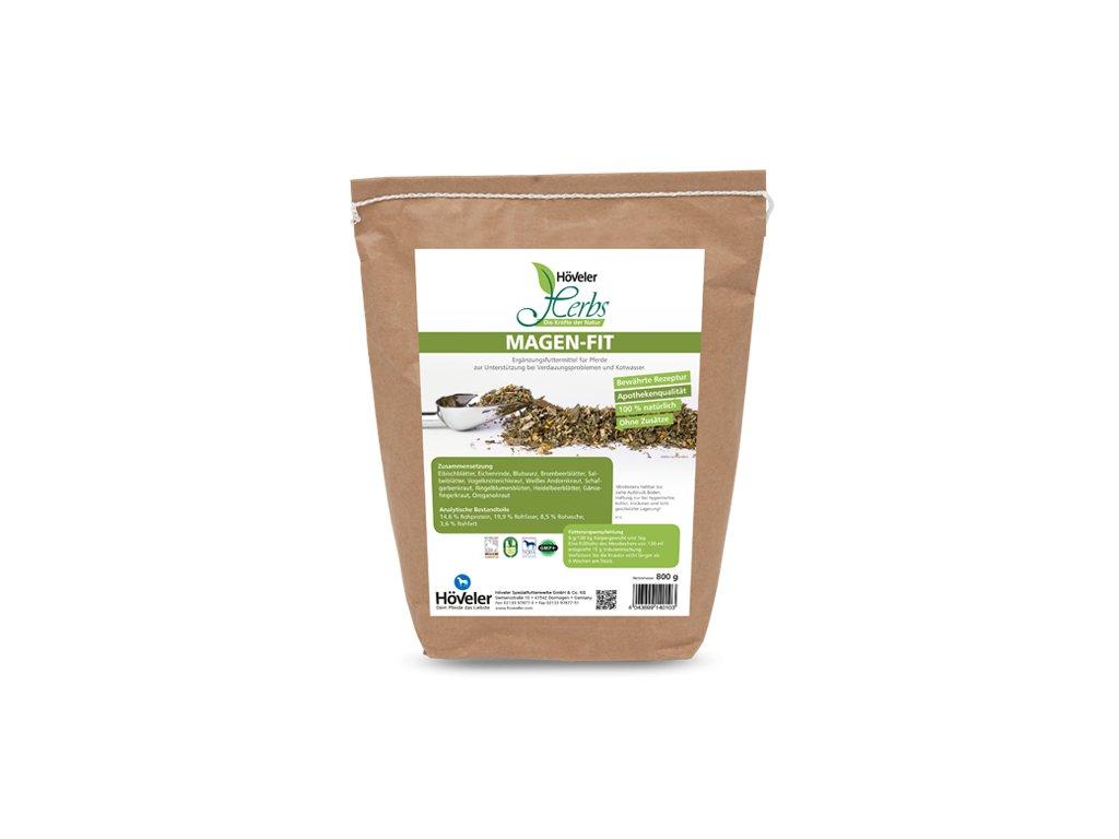 Byliny - Magen Fit, 800 g (Höveler)  100% přírodní bylinky na zažívání