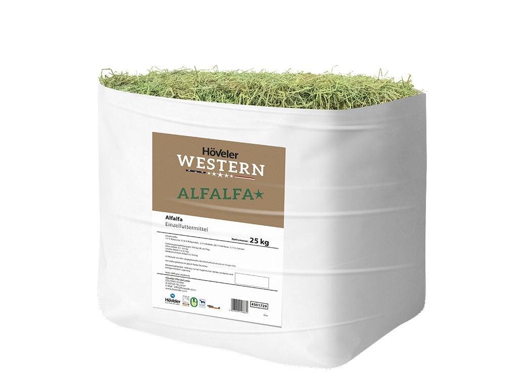 Western Alfalfa, 25 kg (Höveler)  vojtěška bez přísad, obilovin a melasy