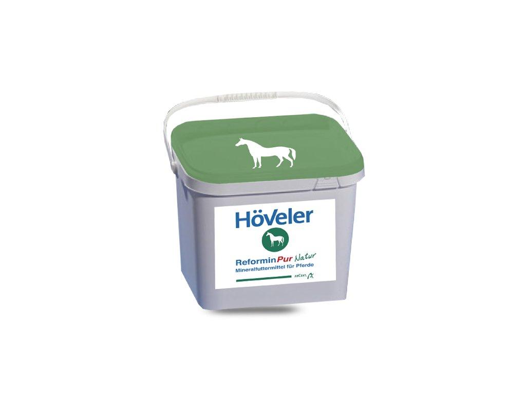 Reformin PUR Natur - 10 kg kbelík (Höveler)  komplex vitaminů a minerálů s křemelinou